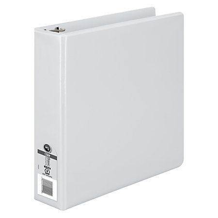 Wilson Jones Basic Round-Ring Binder, 2 inch Ring, White