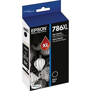 Epson DURABrite® Ultra T786XL120-S High-Yield Black Ink Cartridge