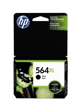 HP 564XL, Black Original Ink Cartridge (CN684WN)