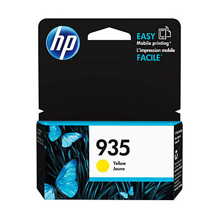 HP 935 Yellow Ink Cartridge (C2P22AN#140)