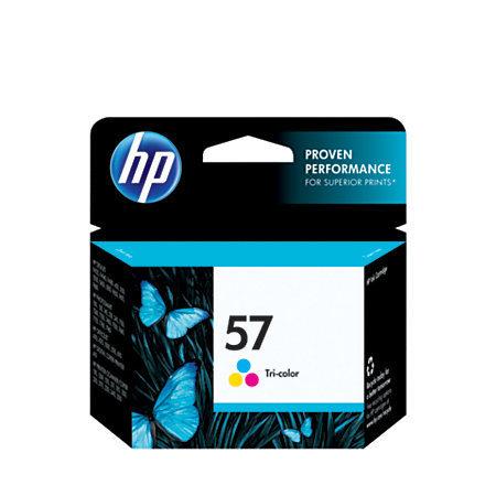 HP 57, Tricolor Original Ink Cartridge (C6657AN)