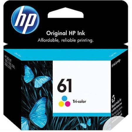 HP 61, Tricolor Original Ink Cartridge (CH562WN)