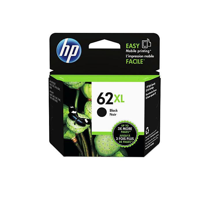 HP 62XL High-Yield Black Ink Cartridge (C2P05AN#140)