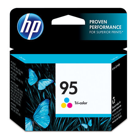 HP 95, Tricolor Ink Cartridge With Vivera Original Ink (C8766WN)