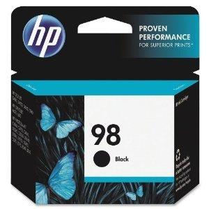 HP 98, Black Original Ink Cartridge (C9364WN)