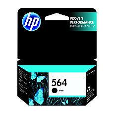 HP 564, Black Original Ink Cartridge (CB316WN)