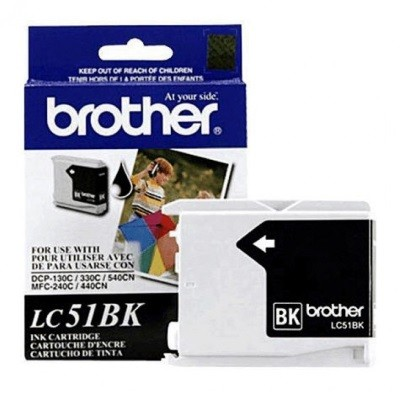 Brother LC51BK, Black Ink Cartridge