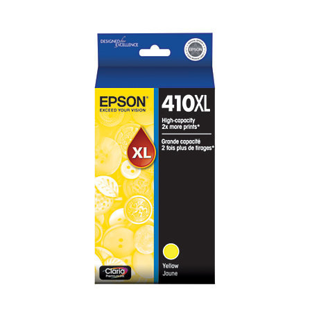 Epson Claria 410XL High Yield Yellow Ink Cartridge (T410XL420-S)