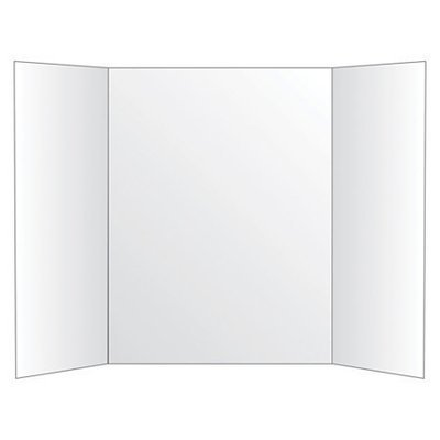 Office Depot Brand 72% Recycled Tri-Fold Corrugate Display Board, 36
