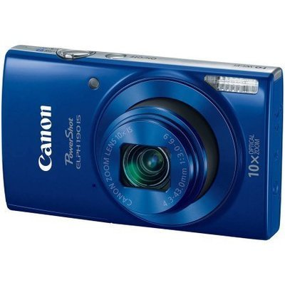 Canon PowerShot ELPH 190 IS 20-Megapixel Digital Camera, Blue