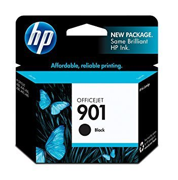 HP 901, Black Original Ink Cartridge (CC653AN)