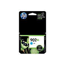 HP 902XL High-Yield Cyan Ink Cartridge (T6M02AN#140)