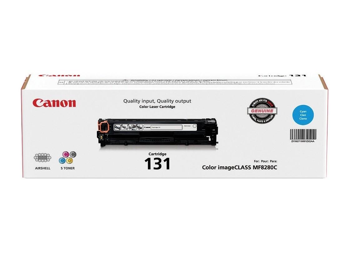 Canon CRG 131 Cyan/Magenta/Yellow Toner Cartridges (6270B004AA), Pack Of 3
