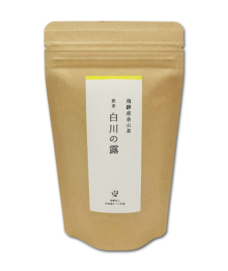 Sencha (Local Green Tea) Hida Kanayama Cha 100g(Souvenir Wrapping )