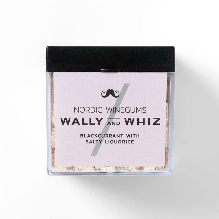 Wally and Whiz Vingummi - Solbær med Salt Lakrids