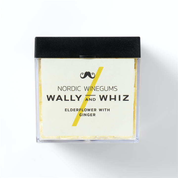 Wally and Whiz Vingummi - Hyldeblomst med Ingefær