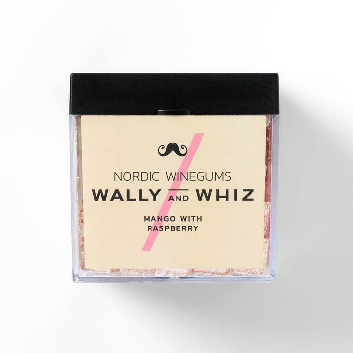 Wally and Whiz Vingummi - Mango med Hindbær