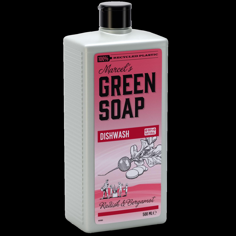 Marcel's Green Soap Opvaskemiddel - Radisser & Bergamot (500ml)