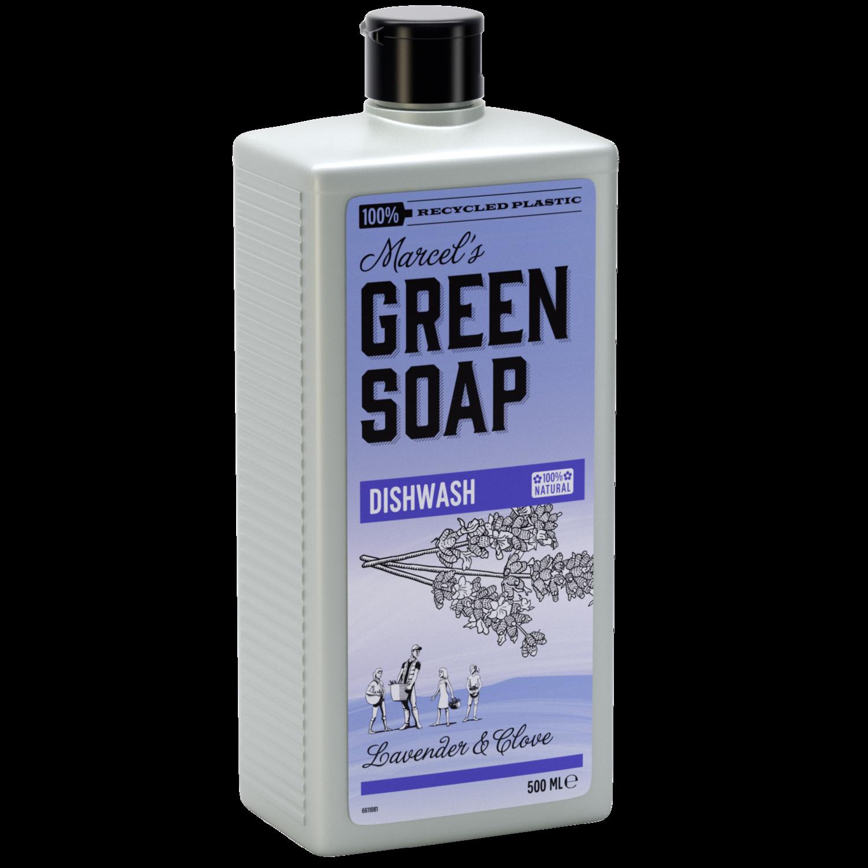 Marcel's Green Soap Opvaskemiddel - Lavendel & Rosmarin (500ml)