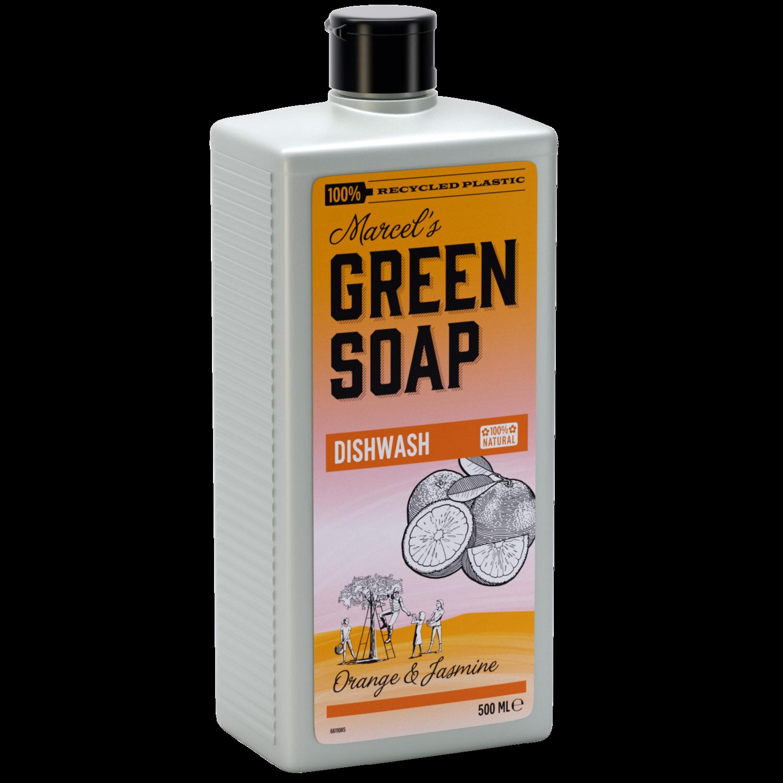 Marcel's Green Soap Opvaskemiddel - Appelsin & Jasmin blomster (500ml)