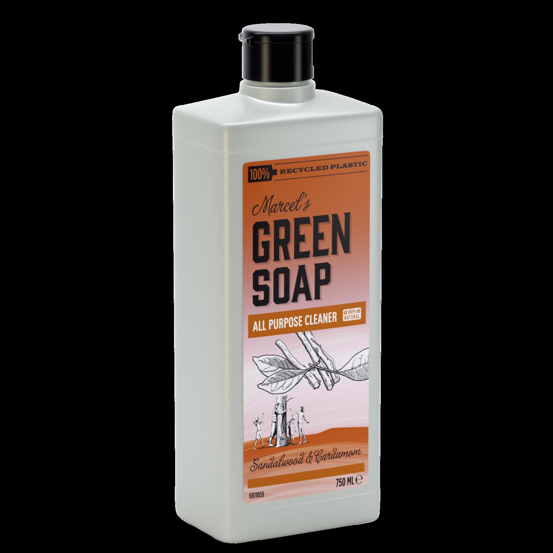 Marcel's Green Soap Rengøringsmiddel - Sandeltræ & Kardemomme