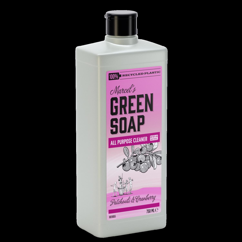 Marcel's Green Soap Rengøringsmiddel - Patchouli & Tranebær