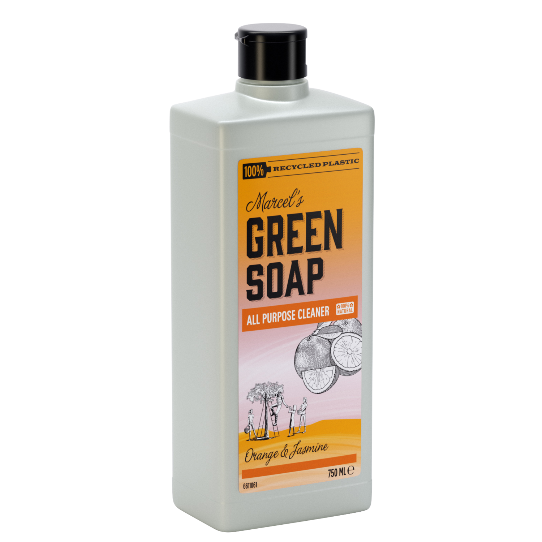 Marcel's Green Soap Rengøringsmiddel - Appelsin & Jasmin