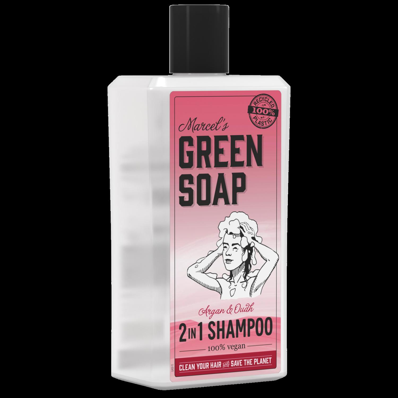 Marcel Green Soap Shampoo - Argan & Oudh