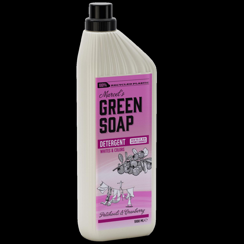 Marcel's Green Soap Vaskemiddel - Patchouli & Tranebær