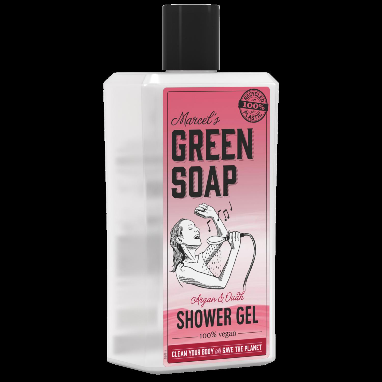 Marcel's Green Soap Shower Gel - Argan & Oudh