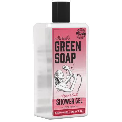 Marcel's Green Soap Shower Gel - Argan & Oudh