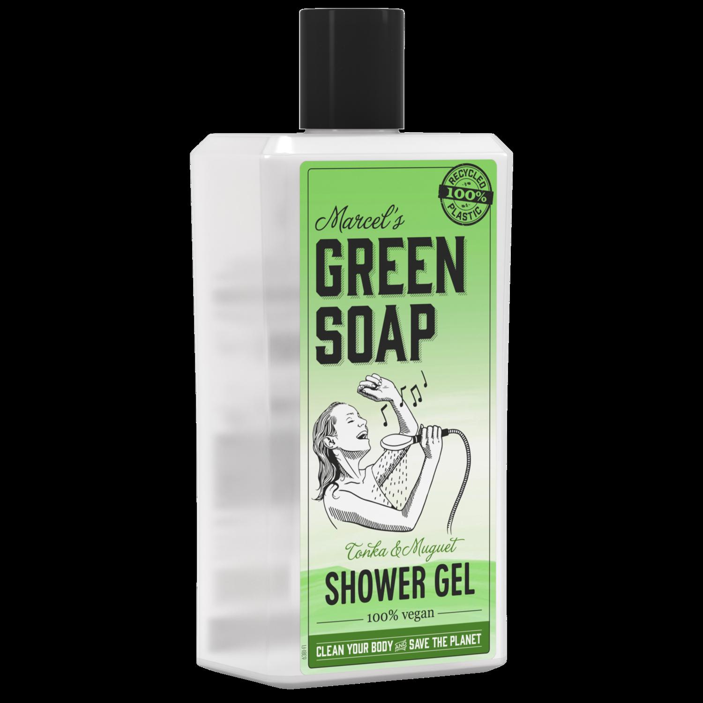 Marcel's Green Soap Shower Gel - Tonka & Muguet/liljekonval (500ml)