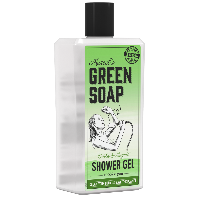 Marcel's Green Soap Shower Gel - Tonka & Muguet