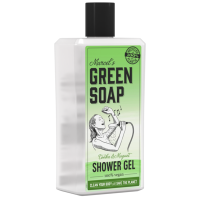 Marcel's Green Soap Shower Gel - Tonka & Muguet