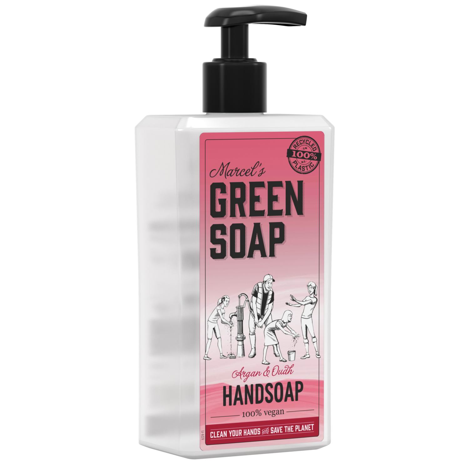 Marcel's Green Soap Håndsæbe - Argan & Oudh (500 ml)