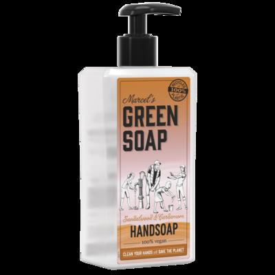 Marcel's Green Soap Håndsæbe - Sandeltræ & Kardemomme (250 ml)