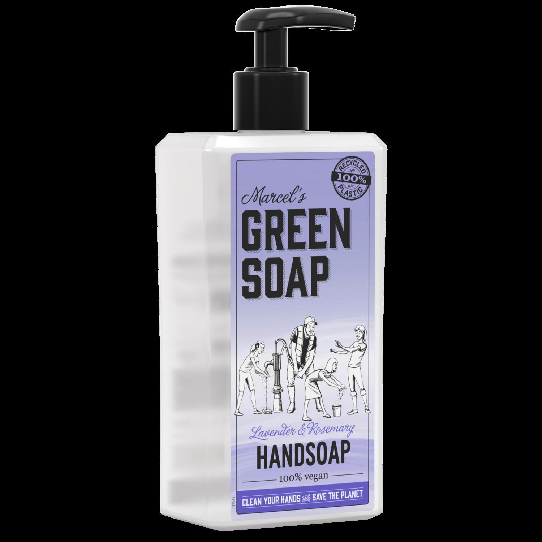 Marcel's Green Soap Håndsæbe - Lavendel & Rosmarin (250 ml)