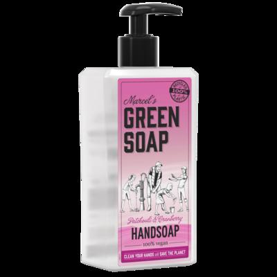 Marcel's Green Soap Håndsæbe - Patchouli & Tranebær (500 ml)