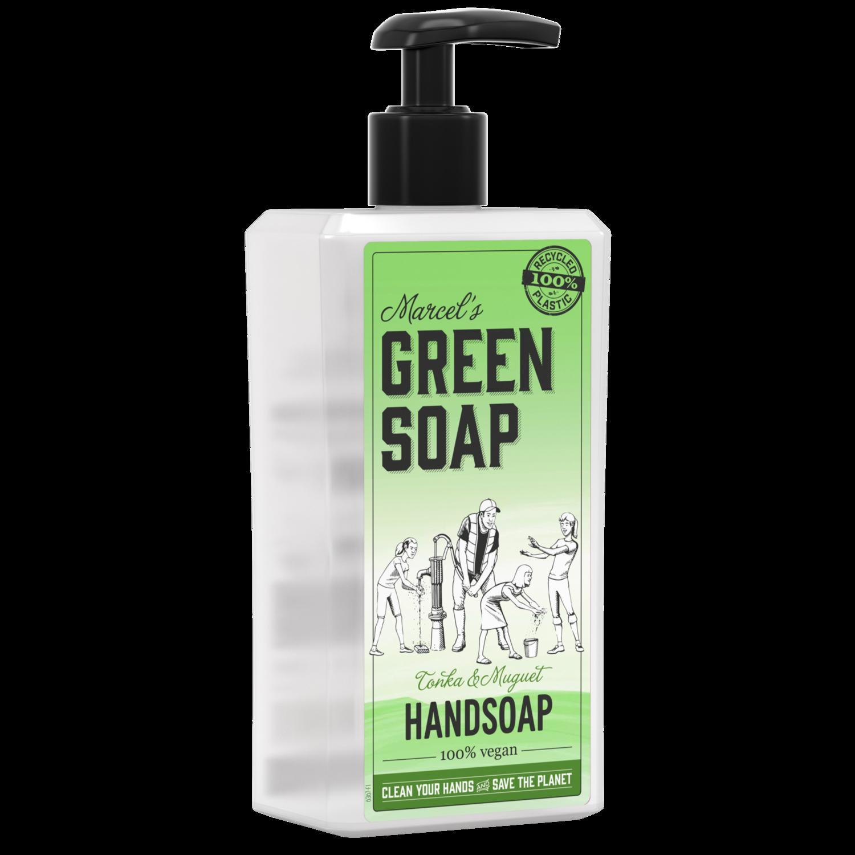 Marcel's Green Soap Håndsæbe - Tonka & Muguet (500 ml)