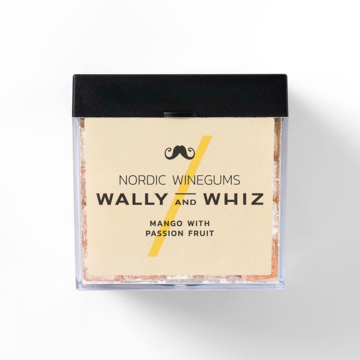 Wally and Whiz Vingummi - Mango med Passionsfrugt