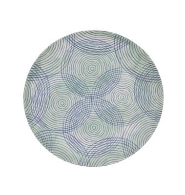 Urban Nature Culture Bambustallerken - Colourful Cirkels