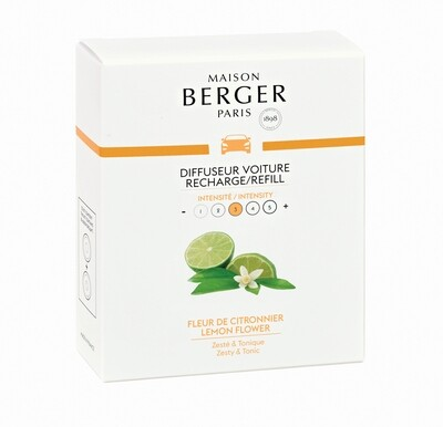 Maison Berger Bil Diffuser Duft - Lemon Flower