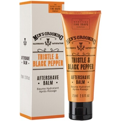 Scottish Fine Soaps Men's Grooming Thistle and Black Pepper - Aftershave Balm