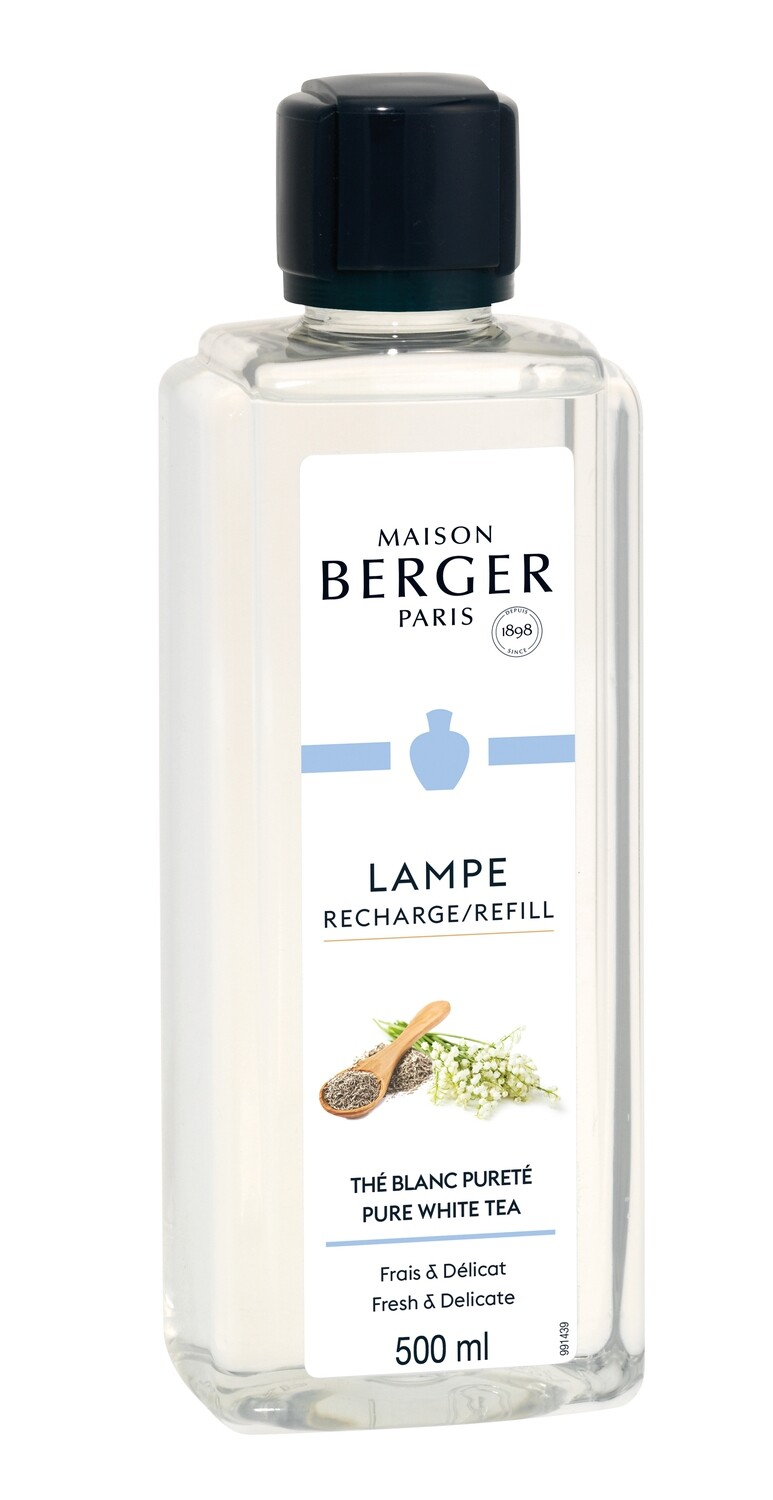 Maison Berger Lampeolie - Pure White Tea (500ml)