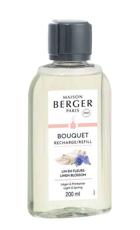 Maison Berger Duftpinde Refill - Linen Blossom(200ml)