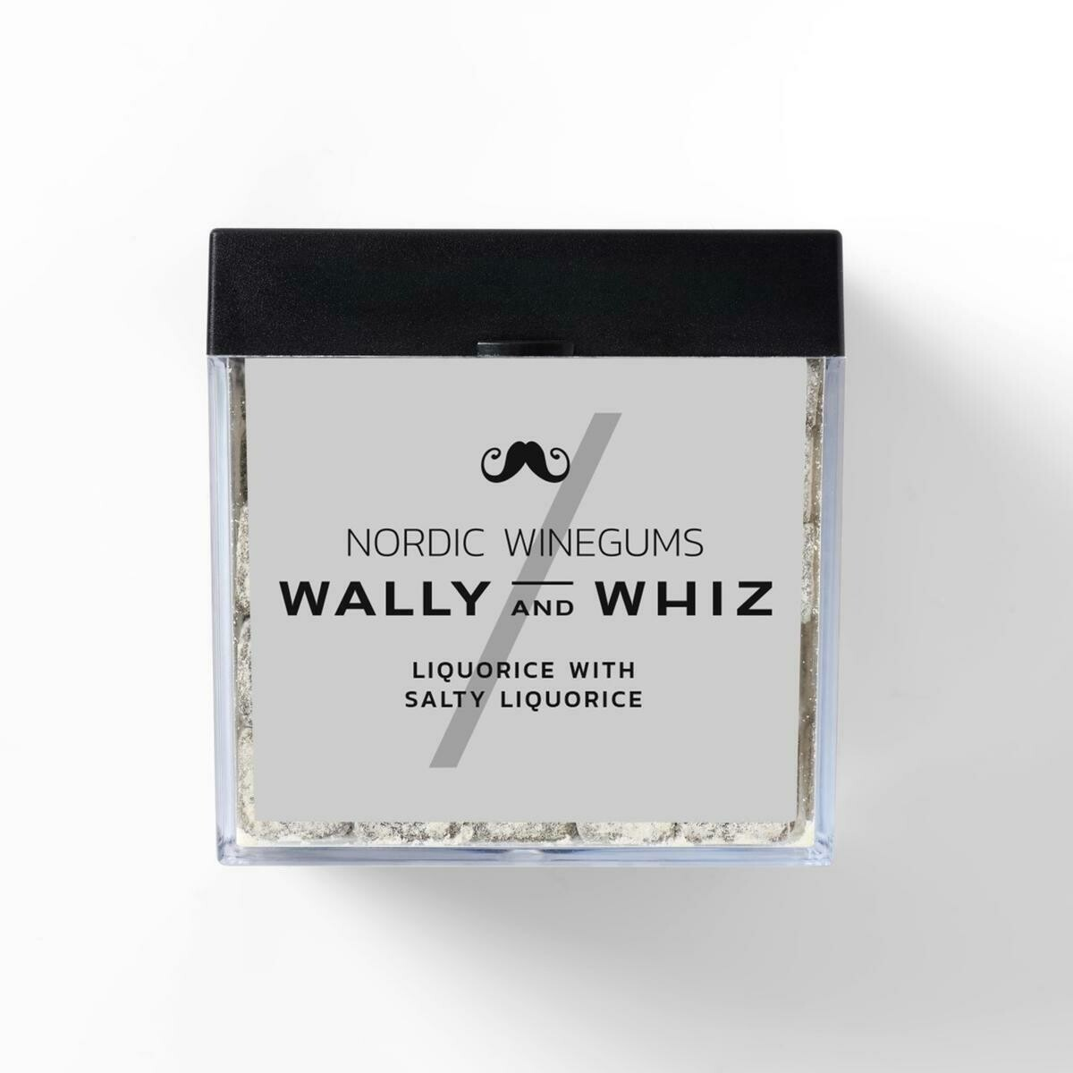 Wally and Whiz Lakrids - Lakrids med Saltlakrids