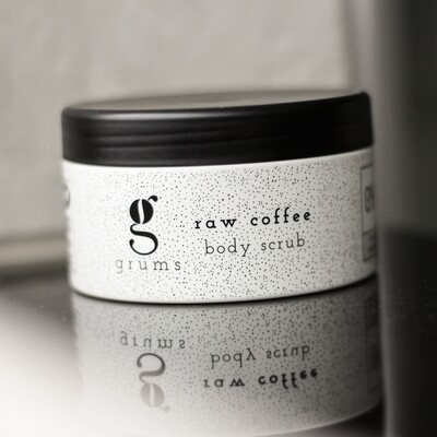 Grums Raw Coffee - Body Scrub