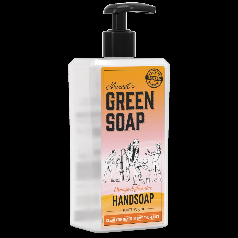 Marcel's Green Soap Håndsæbe - Appelsin & Jasmin (500 ml)