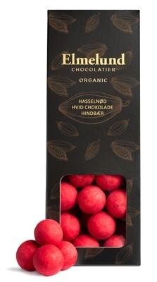 Elmelund - Hasselnød/Hvid chokolade/Hindbær