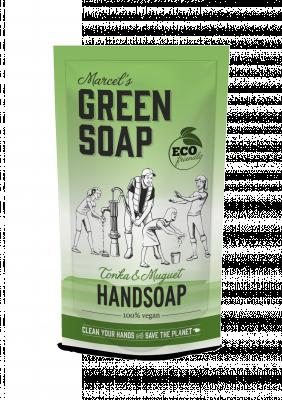 Marcel Green Soap Refill håndsæbe - Tonka & Muguet (500 ml)